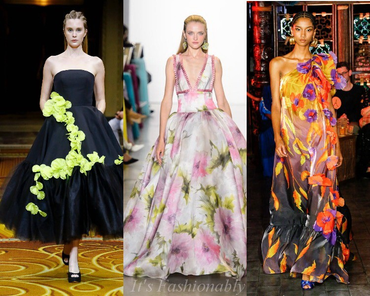 Spring-Summer Fashion Blomster Kjoler 2019